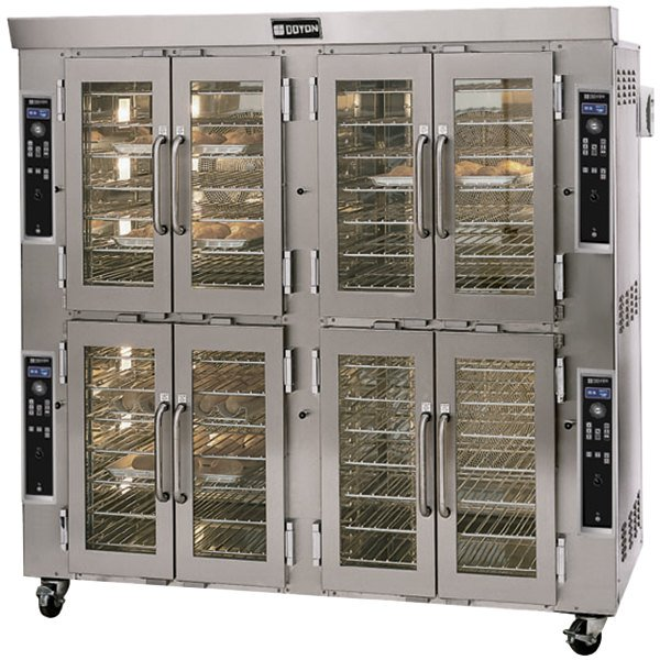 Doyon JA28 Jet Air Double Deck Electric Bakery Convection Oven - 208V, 3 Phase, 43 kW