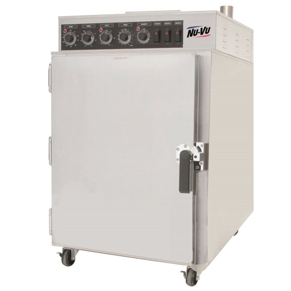 NU-VU SMOKE6 Half Height Cook and Hold Smoker Oven - 208V, 1 Phase