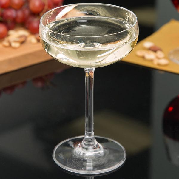 Stolzle 2730008T 8 oz. Champagne Saucer - 6/Pack
