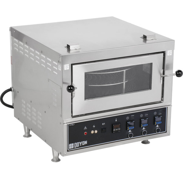 Doyon FPR3 Countertop Electric Pizza Deck Oven - 208V Main Image 1