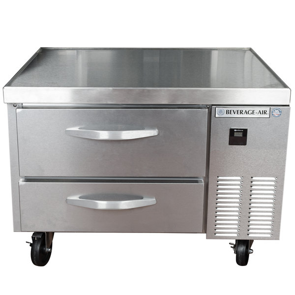 """Beverage-Air WTRCS36-1 36"""" Two Drawer Refrigerated Chef Base"""