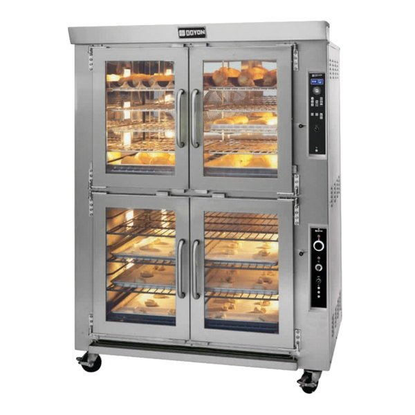 Doyon JAOP10 Double Deck Jet Air Electric Oven Proofer Combo - 208V, 3 Phase, 16.5 kW