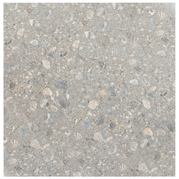 """Grosfillex 99841102 32"""" x 32"""" Tokyo Stone Square Molded Melamine Outdoor Table Top"""