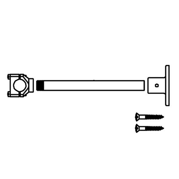 T&S 001584-45 10-32 UN Wall Bracket Set Screw Main Image 1