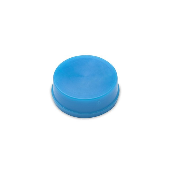 T&S 001220-19 Light Blue Blank Snap-In Index Button Main Image 1