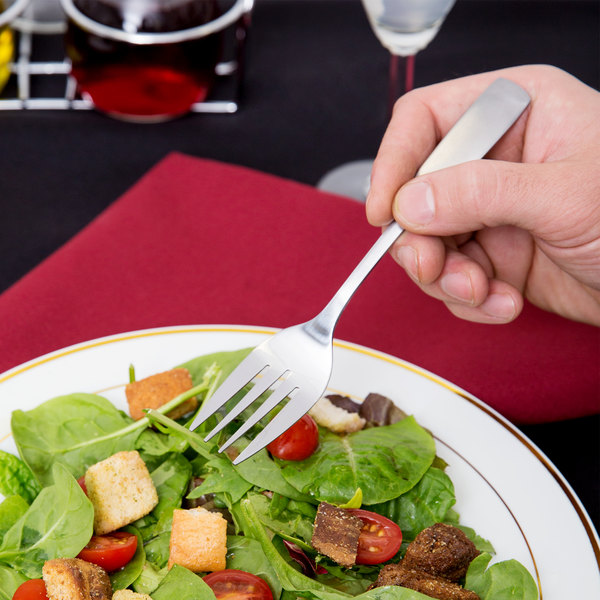 Washington Flatware Stainless Steel Salad Fork - 12/Case