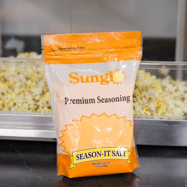 Great Western 35 oz. Season-It Buttery Popcorn Salt Main Image 5