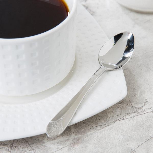 Marquis Flatware Stainless Steel Demitasse Spoon - 12/Case