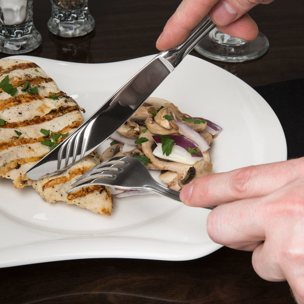 Regency Flatware Stainless Steel Hollow Handle Table Knife - 12/Case