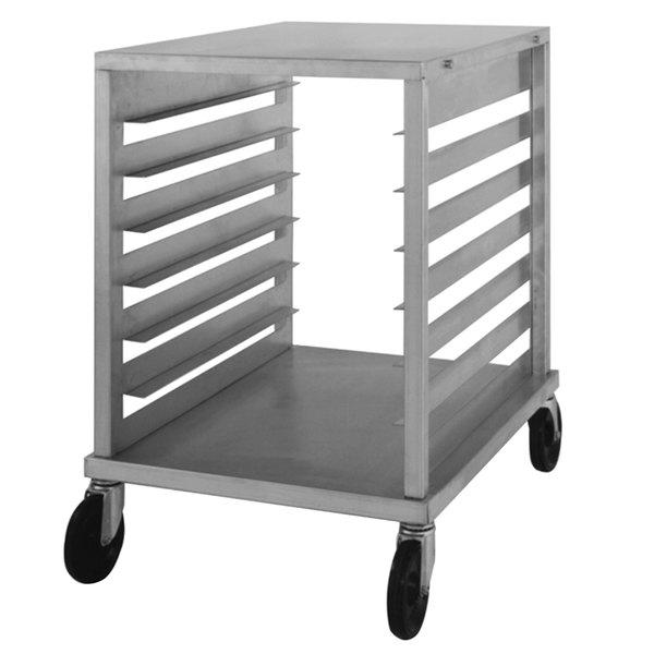 NU-VU SB-1 7 Pan End Load Half Size Bun / Sheet Pan Rack - Assembled