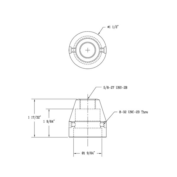 T&S 001485-40 Cover for B-1172 Faucet Diverters