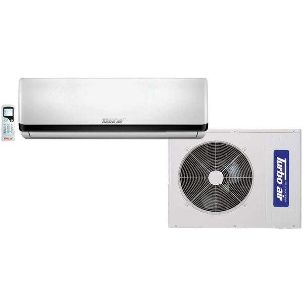 Turbo Air TAS-12EHN 12,000 BTU Mini Ductless Split Type Wall Mounted Air Conditioner / Heat Pump