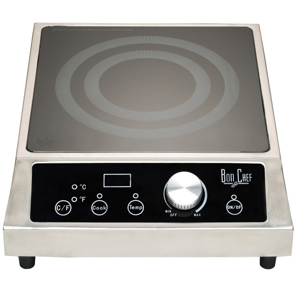 Bon Chef 12084 Countertop Induction Range - 208/240V, 3500W Main Image 1