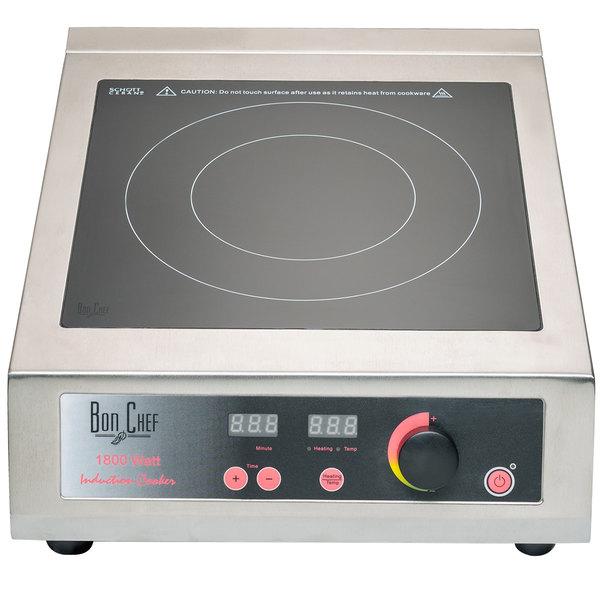 Bon Chef 12082 Countertop Induction Range - 110V, 1800W Main Image 1