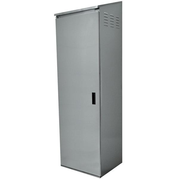 "Advance Tabco CAB-1 Single Door Standing Cabinet - 25"" x 22 5/8"" x 84"" Main Image 1"
