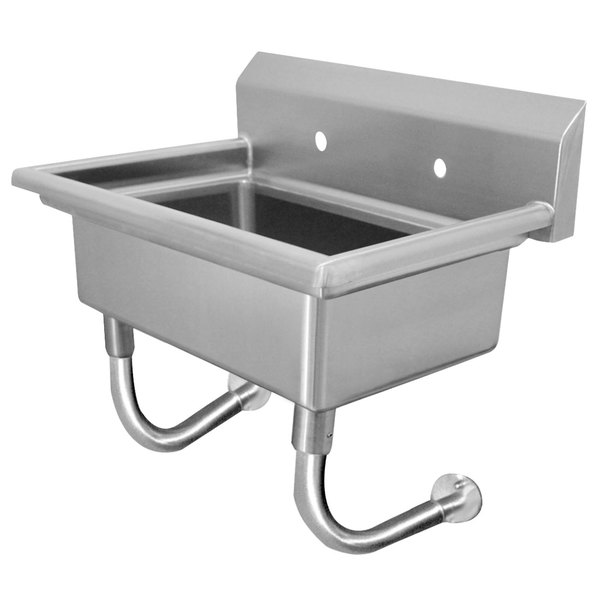 """Advance Tabco FS-WM-48 Wall Mount Multi-Station Hand Sink 48"""" with 8"""" Deep Bowl"""