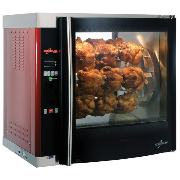 Alto-Shaam AR7E Double Pane Rotisserie Oven with 7 Spits - 240V, 3 Phase Main Image 1
