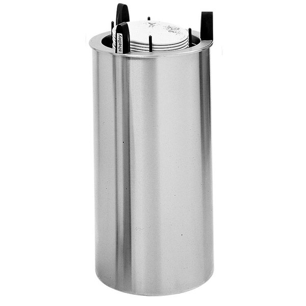 """Delfield DIS-813-ET Even Temp Heated Drop In Dish Dispenser for 7 1/4"""" to 8 1/8"""" Dishes - 120V, 700W"""