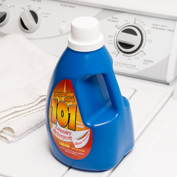 1 Gallon James Austin's 101 Laundry Detergent with Bleach Alternative - 4/Case