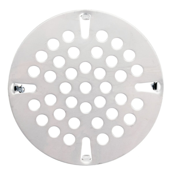 "T&S 010386-45VR 3 1/2"" Vandal Resistant Locking Flat Strainer for Waste Drains Main Image 1"