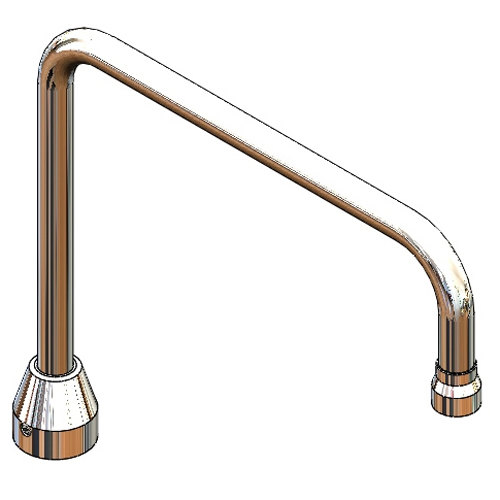T&S 009556-40 Gooseneck Assembly for B-2346 Workboard Faucet Main Image 1