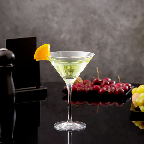 Stolzle 1400025T Grandezza 8 oz. Martini Glass - 6/Pack