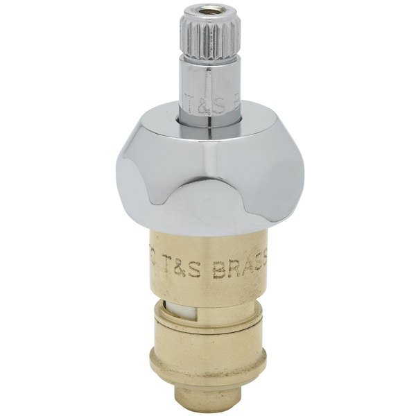 T&S 011278-25 Cerama Cartridge with Bonnet for Hot Right to Close Faucet Handles Main Image 1