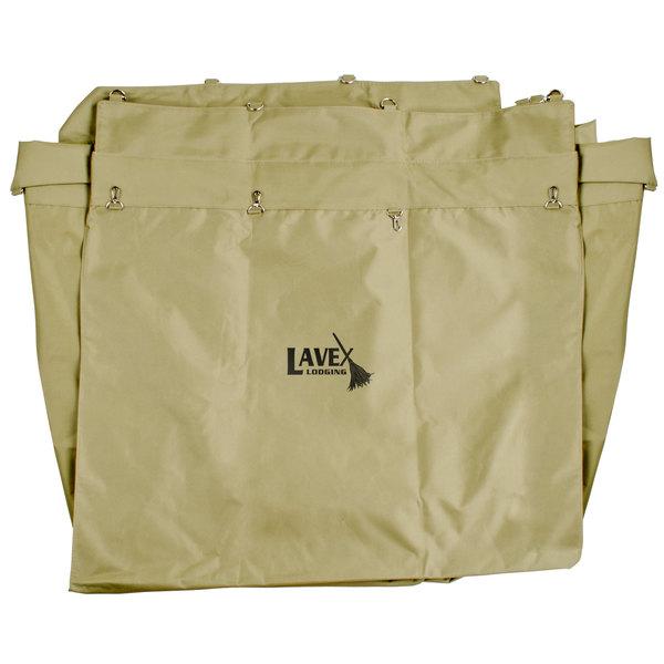 Lavex Lodging 14 Bushel Replacement Canvas Liner for Metal Frame Laundry / Trash Cart Main Image 1