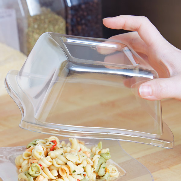 Fineline Wavetrends 105-L Clear Dome Lid for 5 oz. Bowl - 120/Case Main Image 7