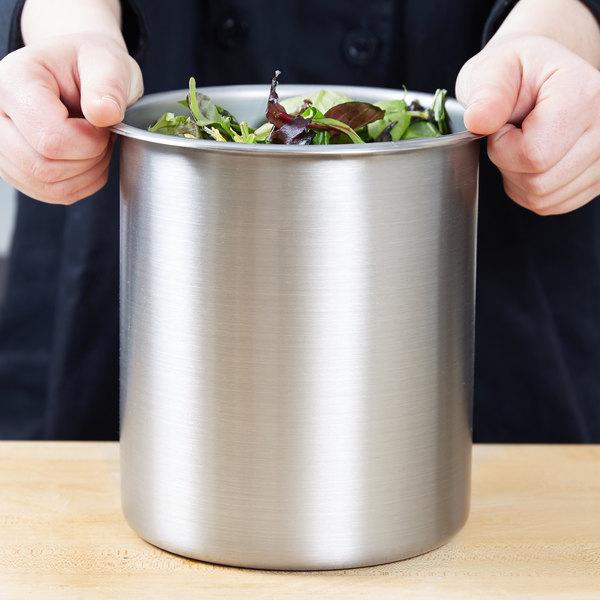 Vollrath 78730 3.5 Qt. Stainless Steel Bain Marie Pot