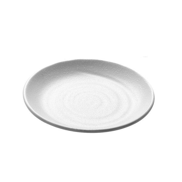 "Elite Global Solutions JW7008 Zen 8 1/2"" White Round Plate"