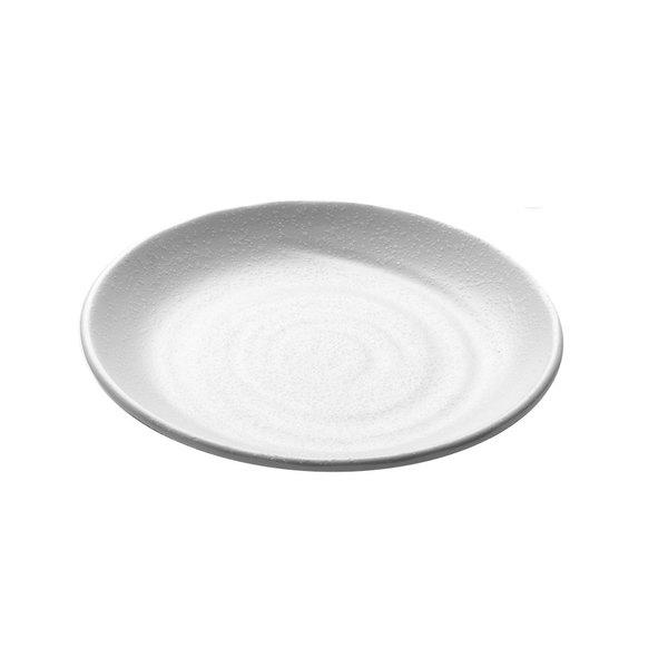 "Elite Global Solutions JW7010 Zen 10 1/8"" White Round Plate - 6/Case"