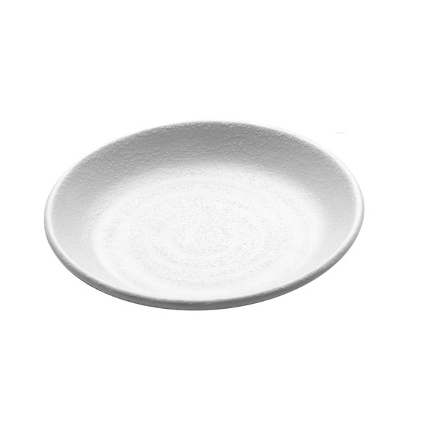 "Elite Global Solutions JW7005 Zen 5 1/8"" White Round Plate"