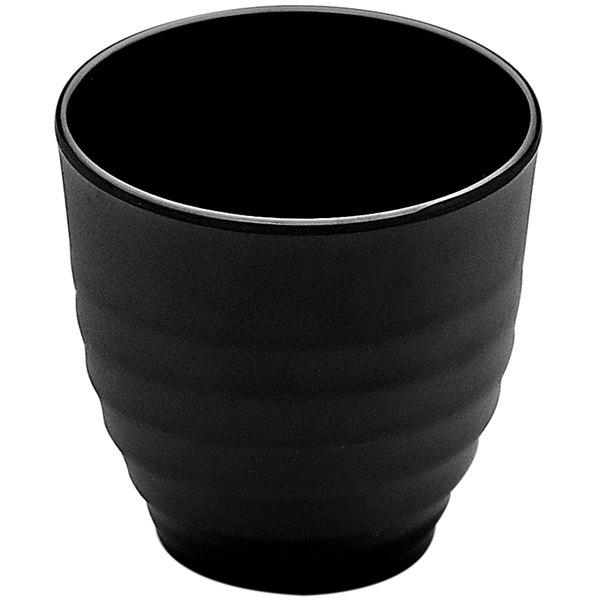 Elite Global Solutions JW2024 Zen 6 oz. Black Cup - 6/Case