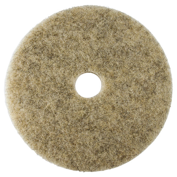 "Scrubble by ACS 35-21 Type 35 21"" Hair Blend Medium Burnishing Floor Pad - 5/Case"