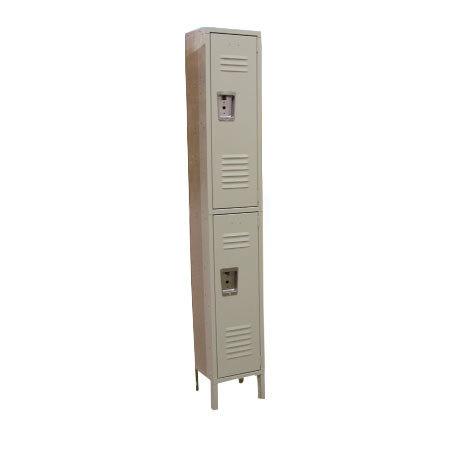 Single Column 2-Tier Locker 18 inch x 12 inch
