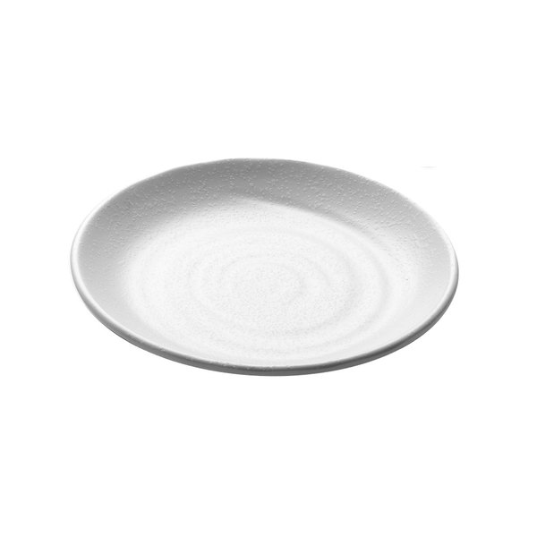 "Elite Global Solutions JW7006 Zen 6 1/4"" White Round Plate - 6/Case Main Image 1"