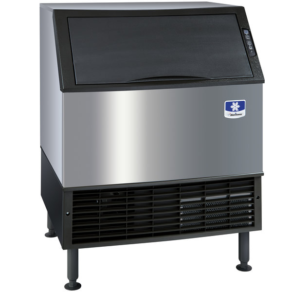"Manitowoc UY-0310A NEO Series 30"" Air Cooled Undercounter Half Size Cube Ice Machine - 304 lb."