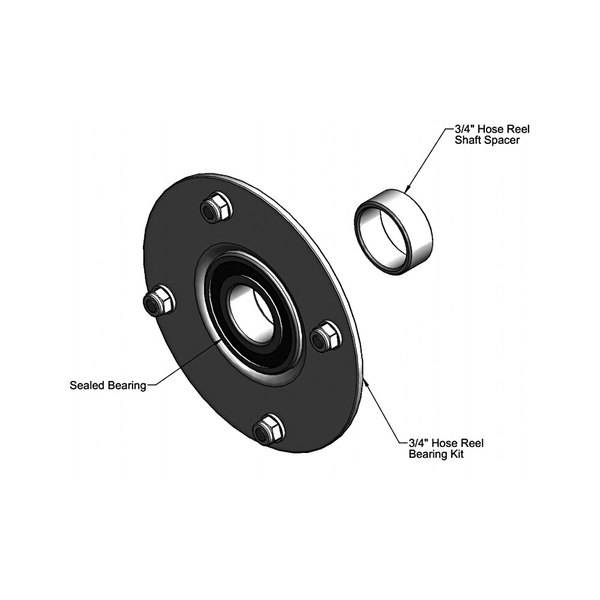 T&S 014923-45 Bearing Kit for B-7245 Hose Reels