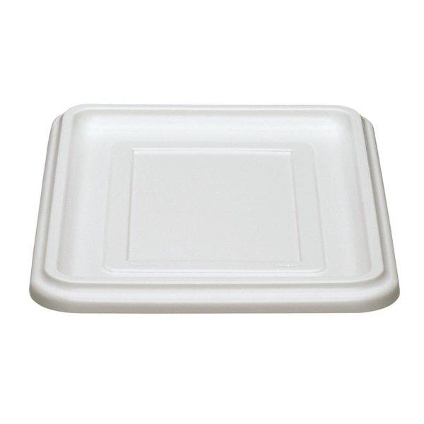 """Cambro 1722CBCP148 Cambox 22"""" x 17"""" White Plastic Cover"""