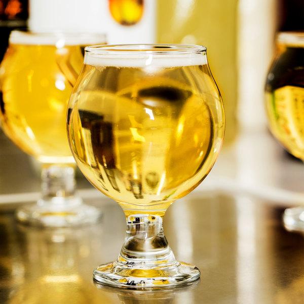 Libbey 3816 Customizable 5 oz. Stackable Belgian Beer Taster Glass - 24/Case