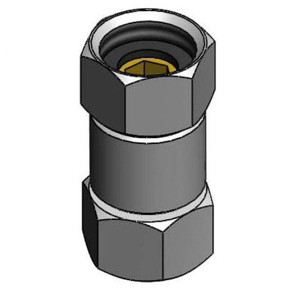 T&S 017506-45 Swivel Coupling with 1/2 NPSM Connections