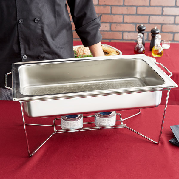 Stainless Steel Water Pan for Rectangular Chafer
