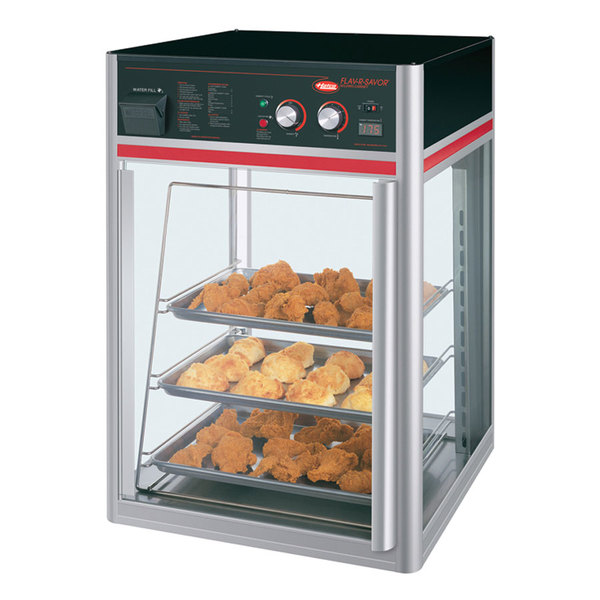 Exceptionnel Hatco FSD 1X Flav R Savor Humidified Hot Food Holding U0026 Display Cabinet  With 3 Tier ...