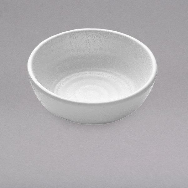 Elite Global Solutions JWT56 Zen 4 oz. White Round Kozara Sauce Cup - 6/Case