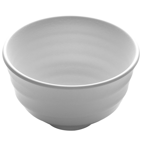 Elite Global Solutions JW1105 Zen 13 oz. White Bowl - 6/Case Main Image 1