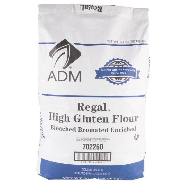 High Gluten Premium Wheat Flour - 50 lb