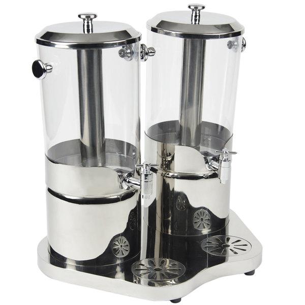 Bon Chef 40506 4 Gallon Double Juice Dispenser