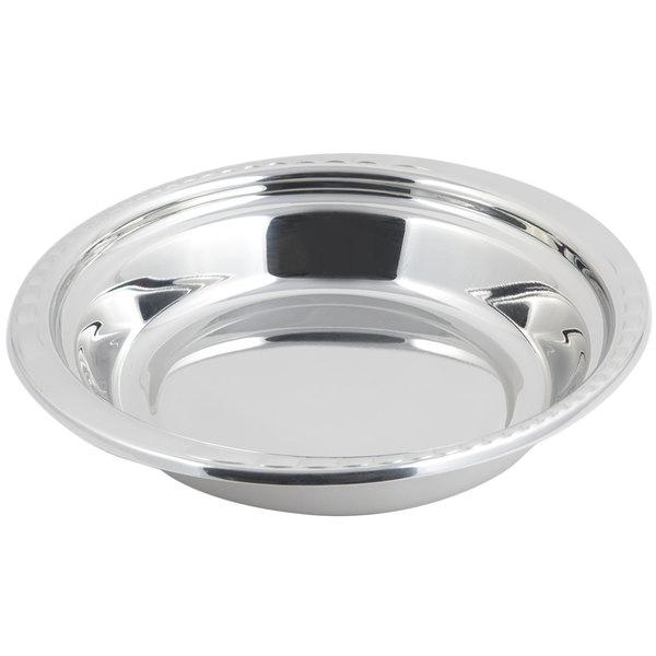 "Bon Chef 5655 13"" x 12"" x 3"" Stainless Steel 2.5 Qt. Arches Design Casserole Food Pan"