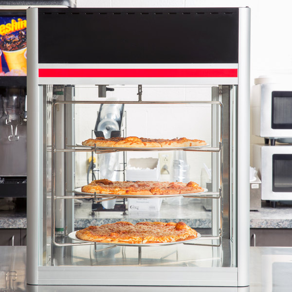 Hatco FSD-1 Flav-R-Savor Humidified Hot Food Holding & Display Cabinet With 3 Tier Circle Rack Main Image 12